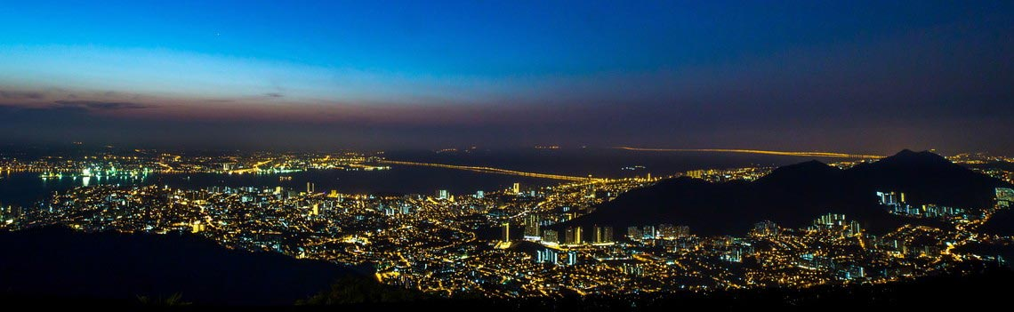Living Penang at Night